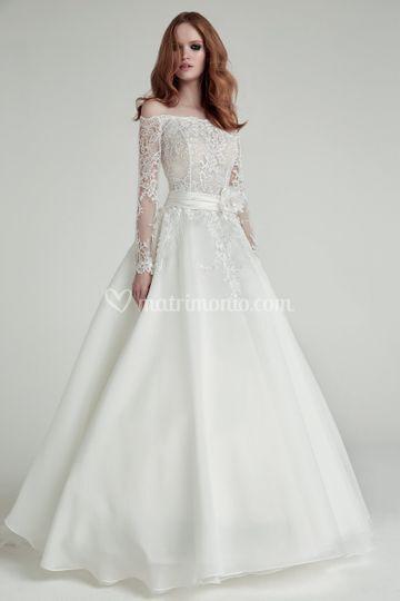 61a4c521d1817 Modello Viviè Valentini Spose di Dolcegiò - Alta Moda Sposa