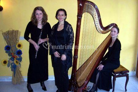 Trio Arpa, Flauto e Soprano
