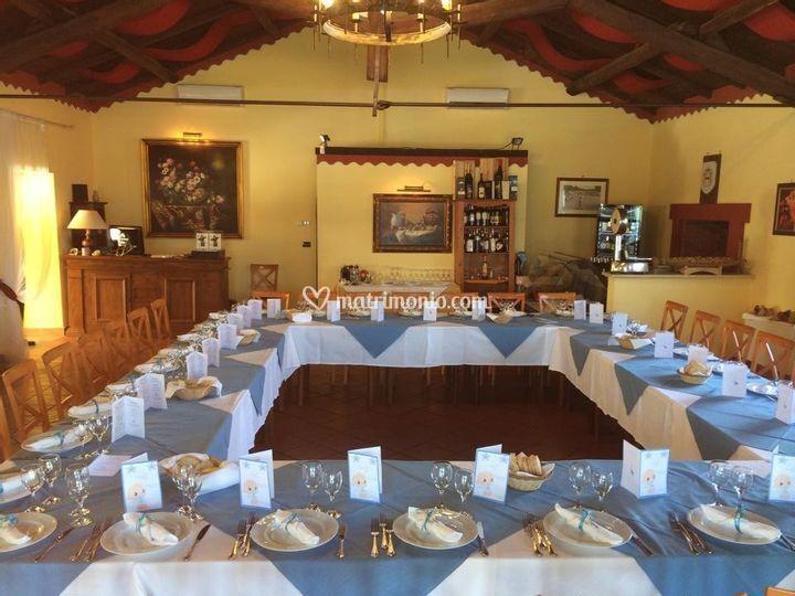 Sala ristorante interno