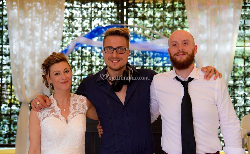Foto con sposi