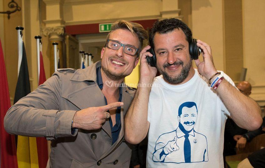 Ospite Matteo Salvini