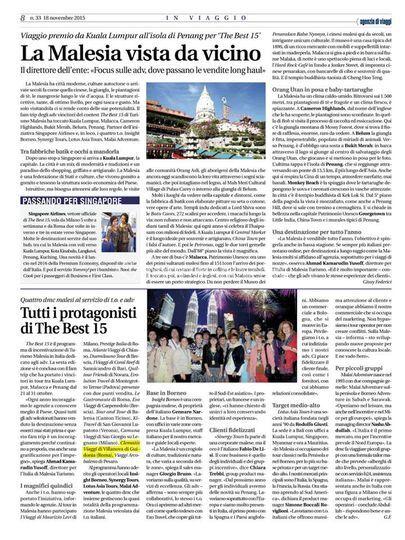 Malesia Ente Turismo 2015