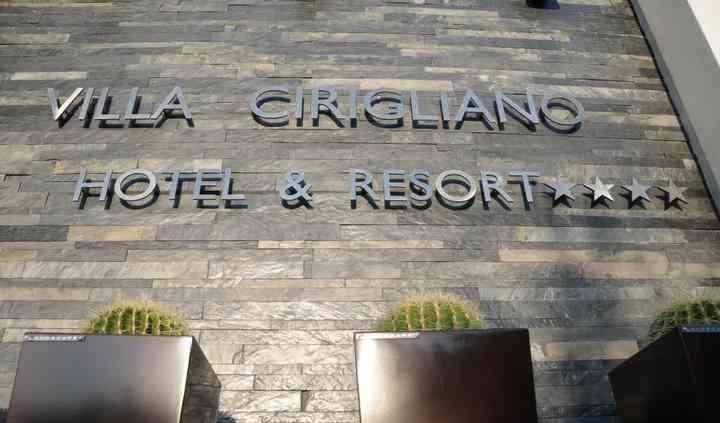 Sala Ricevimenti Hotel Villa Cirigliano