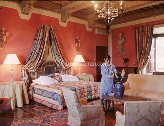Una camera matrimoniale