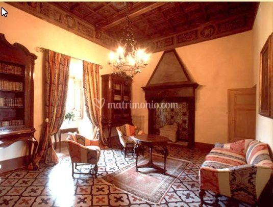 Il soggiorno comune di Castello di Magona | Foto 15