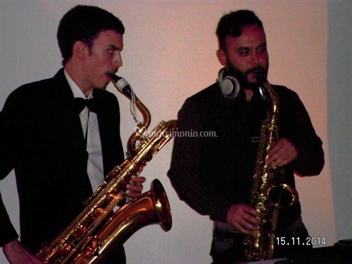 Duetto sax per party