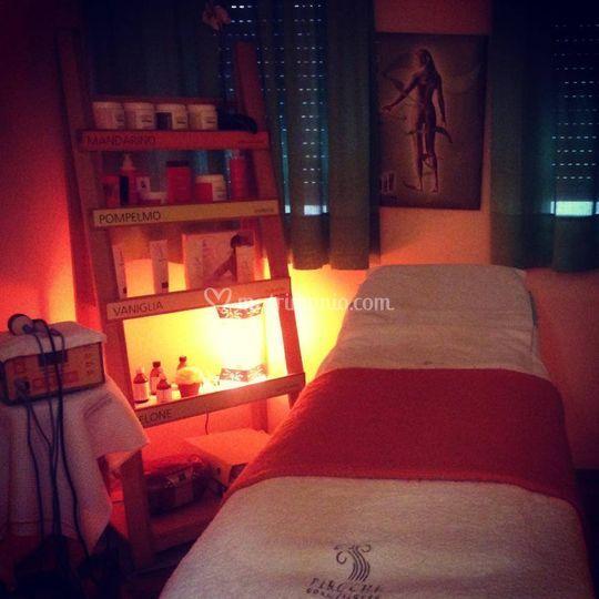 Cabina massaggio