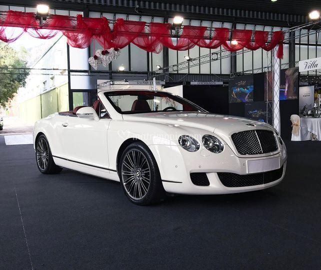 Bentley continental bianca