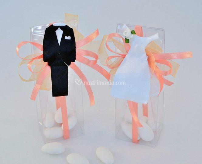 Box con abiti sposi