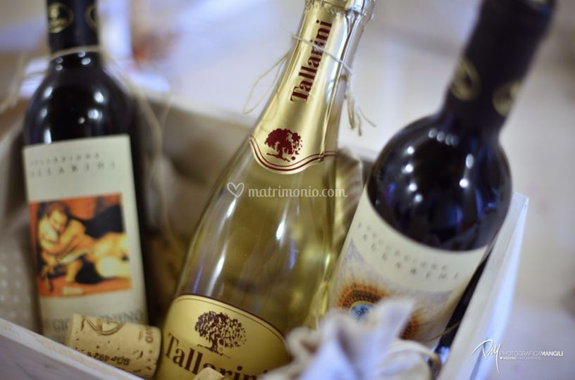 Vino - bomboniera