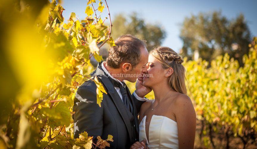 Baci tra le vigne..