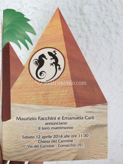Partecipazioni  Emanuela & Mau