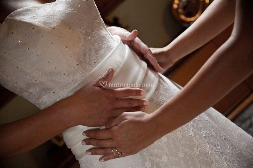 L'abito della sposa