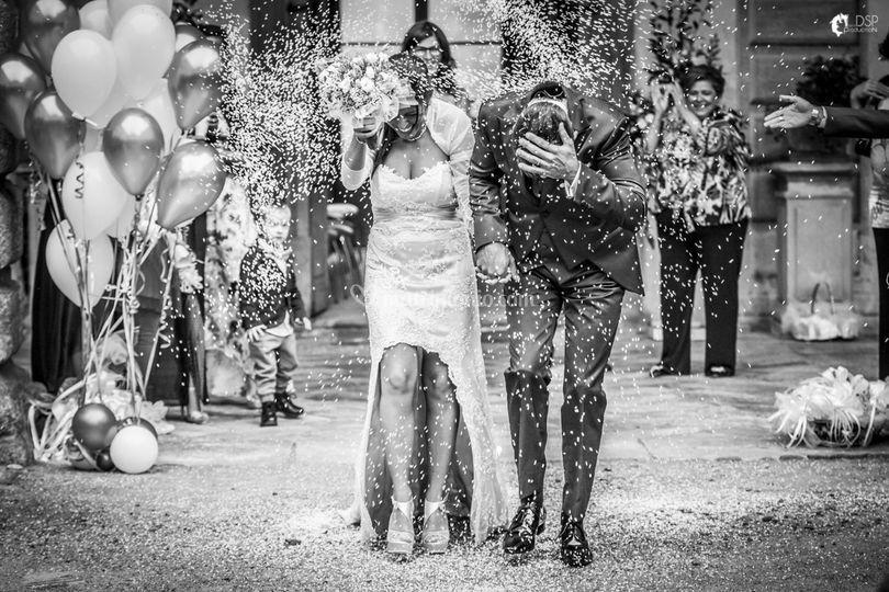 Uscita sposi