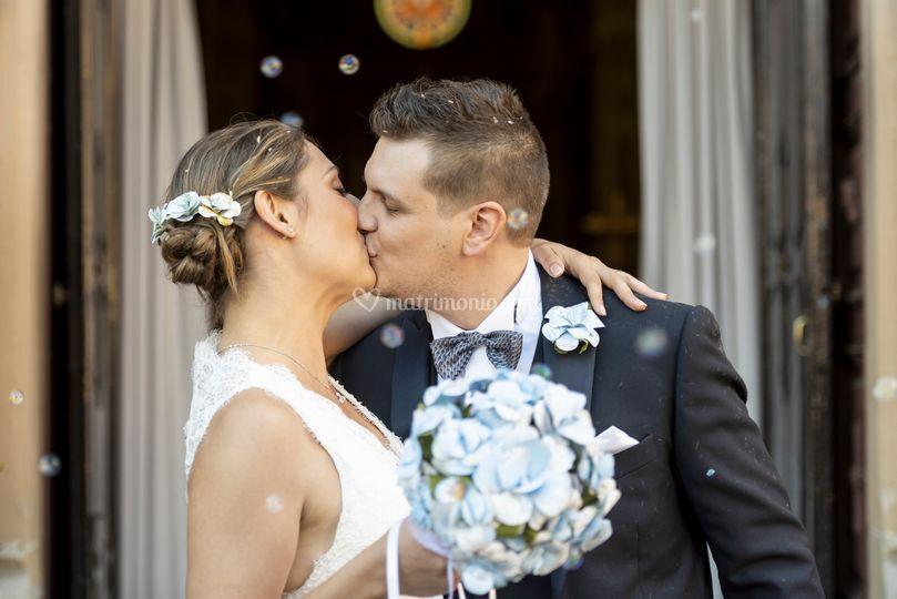 Sposi Bacio