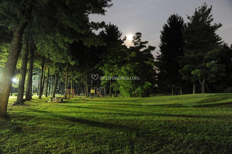 Area giochi bimbi nel parco