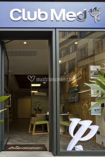 La vetrina Club Med