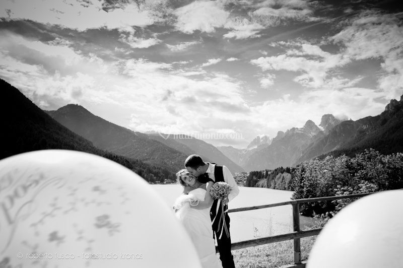 Matrimonio sulle dolomiti