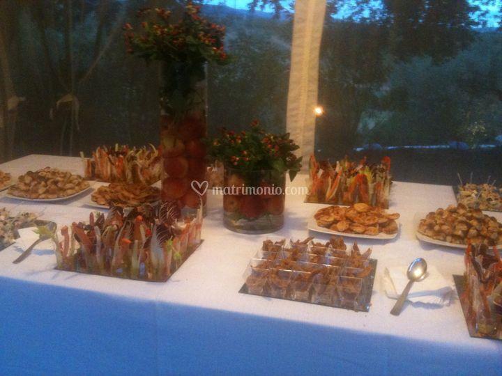 Buffet Rustico Matrimonio : Micheli catering