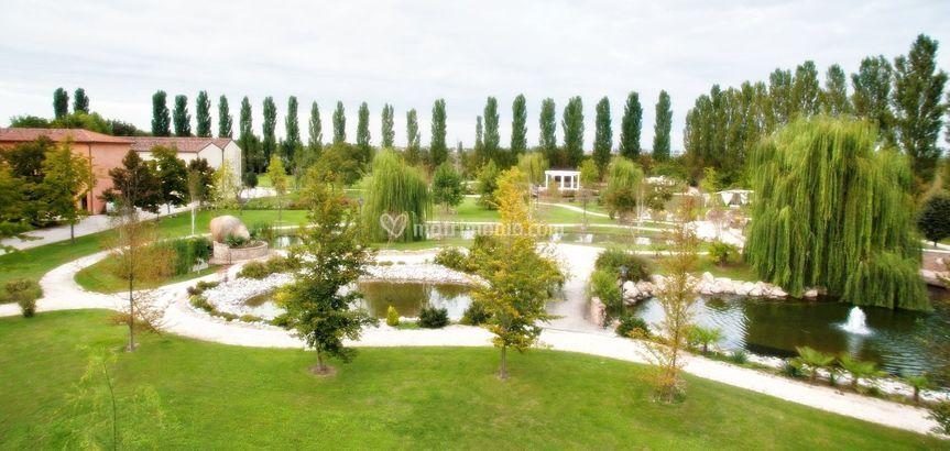 Le piscine naturali del parco