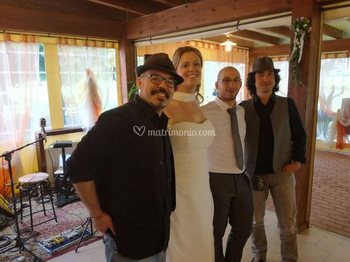 Con Elisa&Andrea sposi!