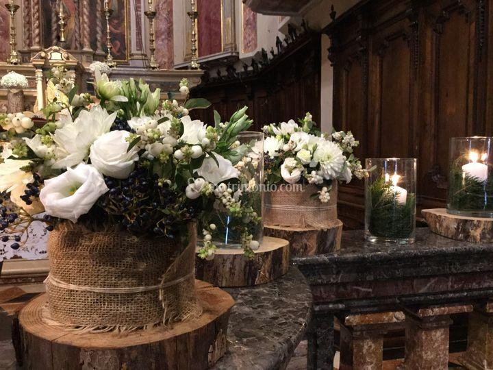 Matrimonio In Montagna : Petali di alice