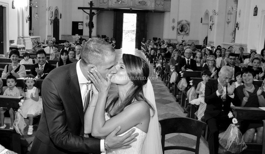 Silvia: il bacio