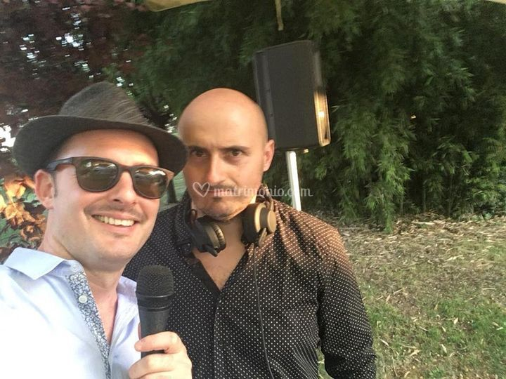 The voice&fabrizio g. Deejay
