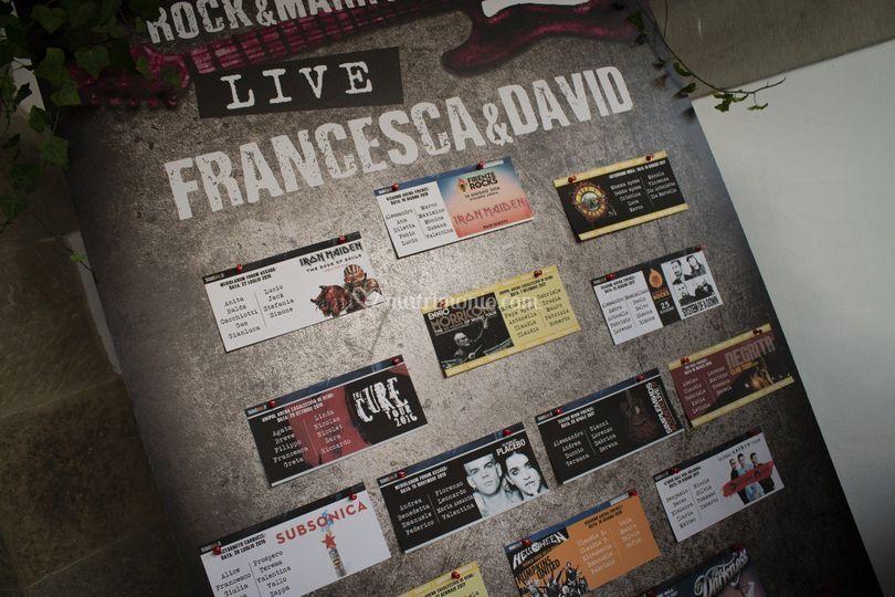 Ticket concerti su sfondo