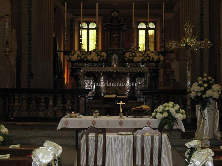 Altare Chiesa di Mercurago