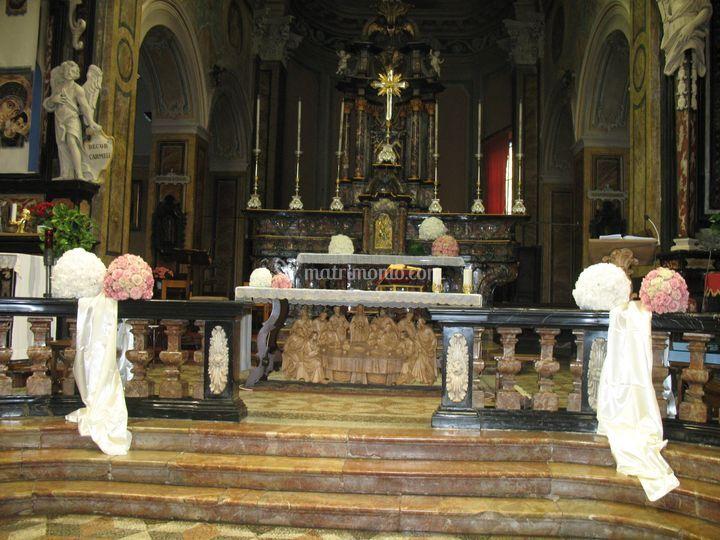 Altare Chiesa di Vaprio