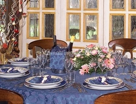 Tavolo allestito