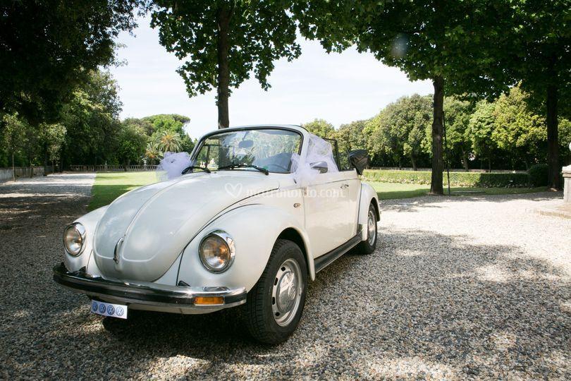 Maggiolone Cabrio Bianco 1976