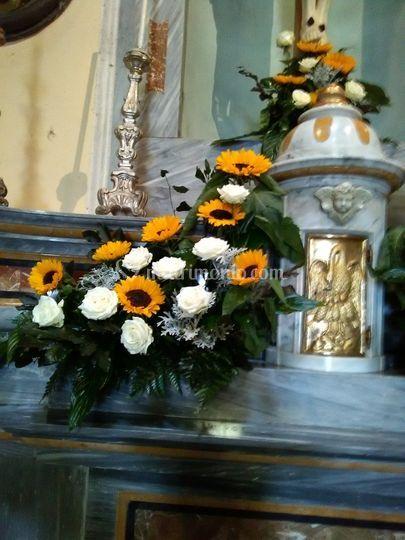 Composizione altare maggiore