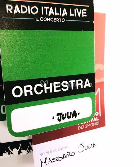 Concerto Radio Italia Palermo