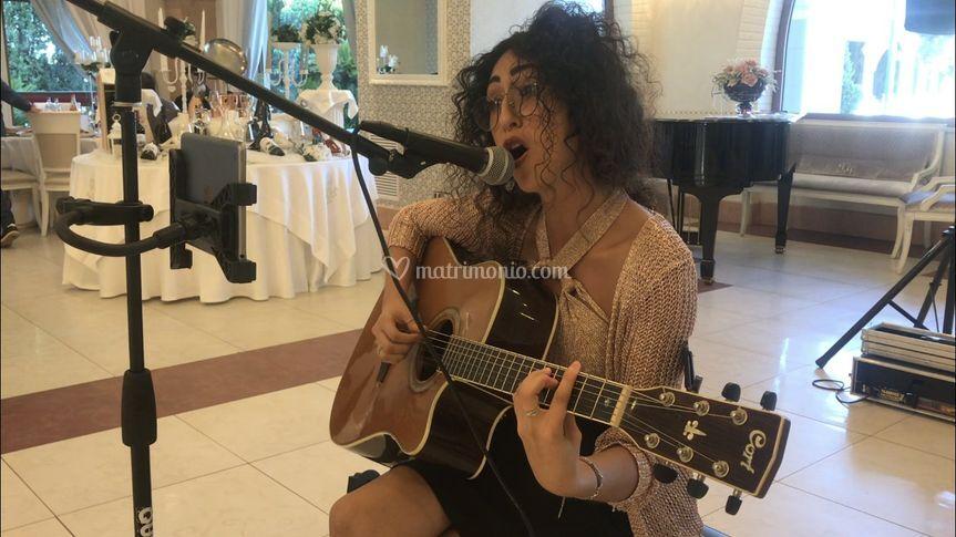 Voce e chitarra solista