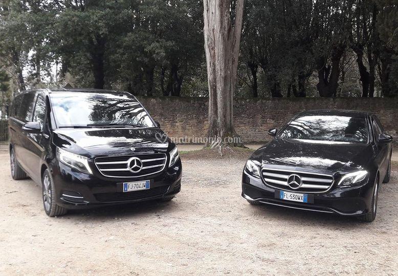 Le nostre Mercedes