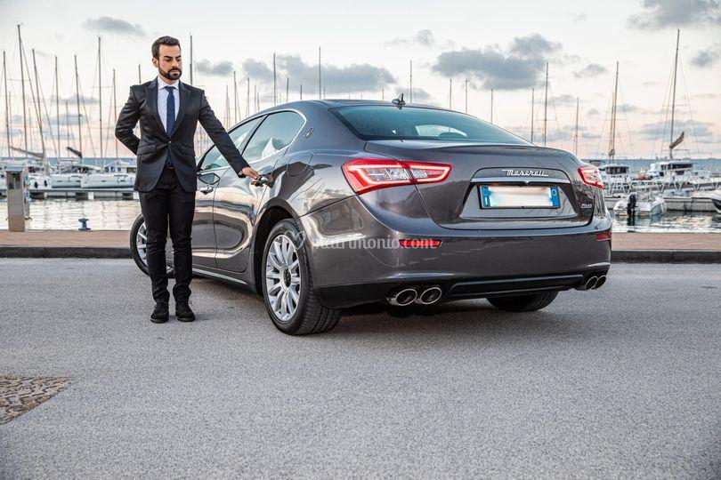 Maserati Ghibli con Autista