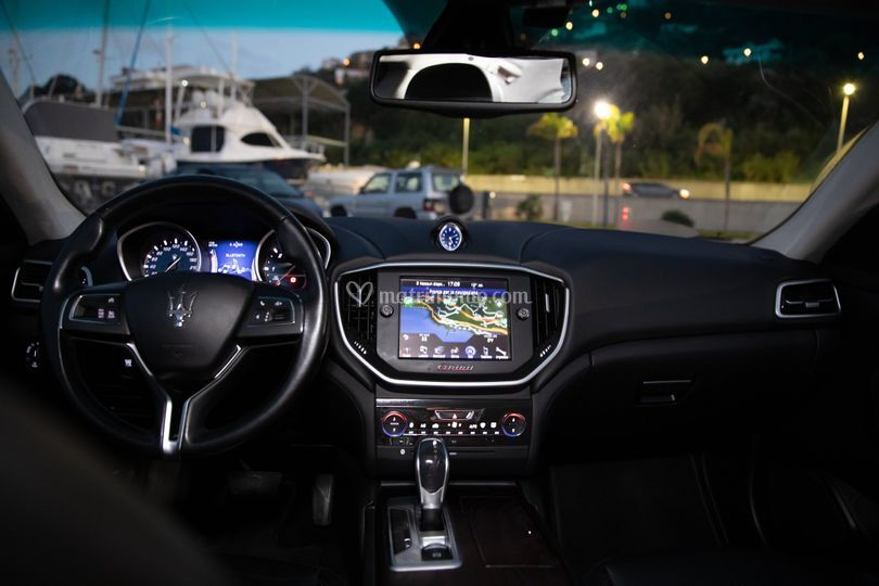 Maserati Ghibli Interno