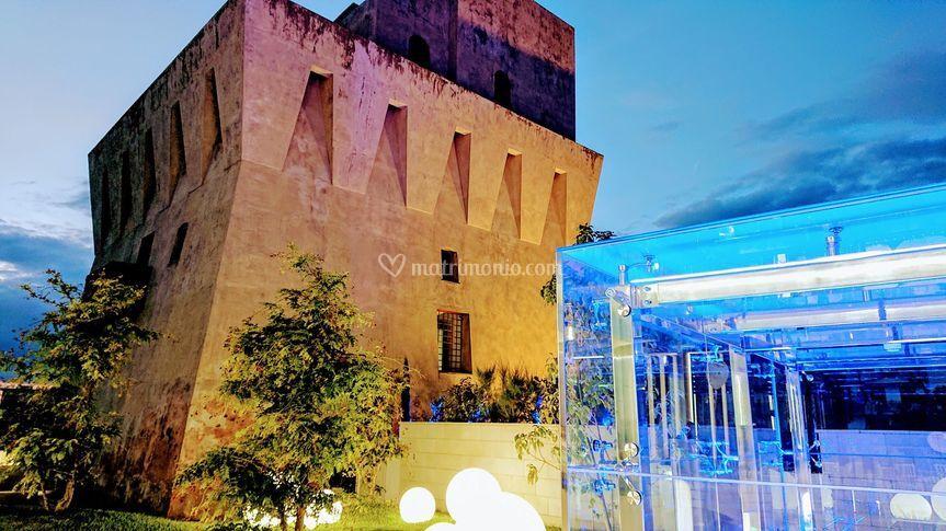 Torre di sera