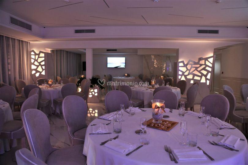 Sala in stile Club
