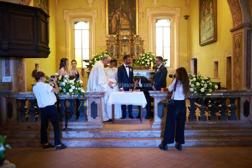 Wedding in chiesa