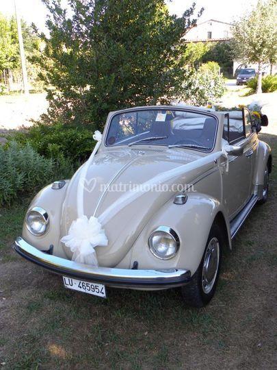 Auto Matrimonio Toscana : Maggiolino cabrio sposi pisa di