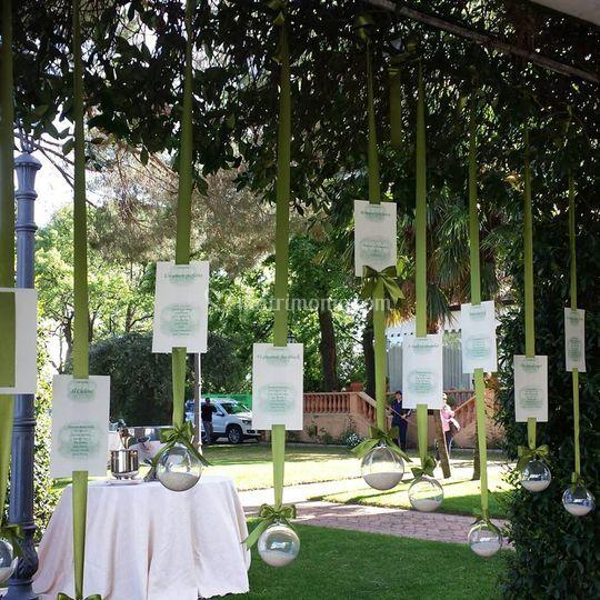 Tableau marriage verde