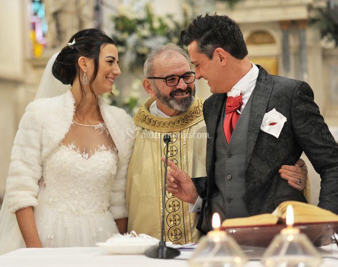 La cerimonia degli sposi
