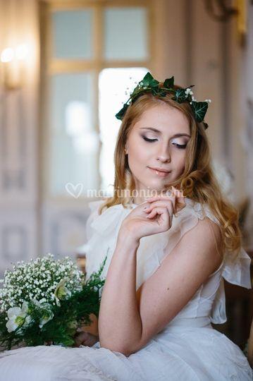 Trucco sposa nude