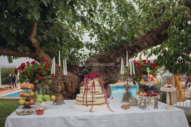 Wedding Cake Casale Giancesare