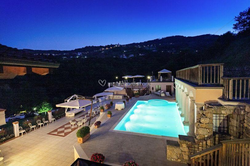 Terrazze con piscina di Il Fontanile | Foto 22