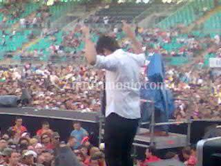 Bari 10/07/07 apertura concerto Vasco Rossi