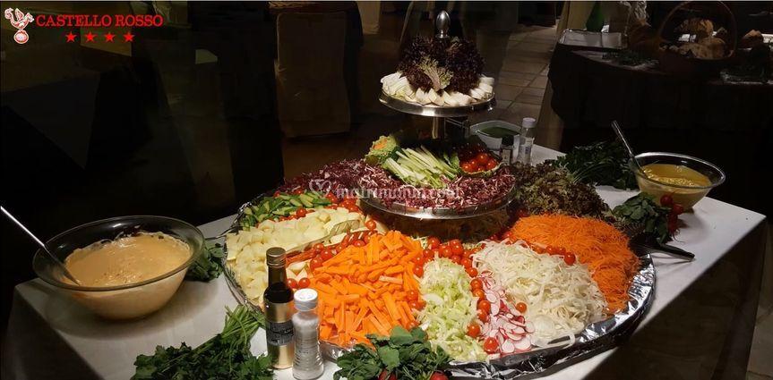 Buffet Verdure miste